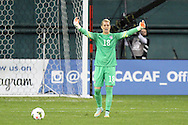 20 October 2014: Ashlyn Harris (USA). The United States Women's National Team played the Haiti Women's National Team at RFK Memorial Stadium in Washington, DC in a 2014 CONCACAF Women's Championship Group A game, which serves as a qualifying tournament for the 2015 FIFA Women's World Cup in Canada. The U.S. won the game 6-0.