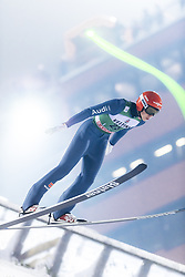 February 8, 2019 - Lahti, Finland - Constantin Schmid participates in FIS Ski Jumping World Cup Large Hill Individual training at Lahti Ski Games in Lahti, Finland on 8 February 2019. (Credit Image: © Antti Yrjonen/NurPhoto via ZUMA Press)