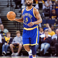 08 April 2008: Golden State Warriors guard Baron Davis brings the ball upcourt during the Golden State Warriors 140-132 victory over the Sacramento Kings at the Oracle  Arena, in Oakland, California, USA.