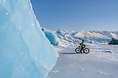 Biking to Knik