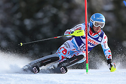 06.01.2014, Stelvio, Bormio, ITA, FIS Weltcup Ski Alpin, Bormio, Slalom, Herren, im Bild Steve Missillier // Steve Missillier  in action during mens Slalom of the Bormio FIS Ski World Cup at the Stelvio in Bormio, Italy on 2014/01/06. EXPA Pictures &copy; 2014, PhotoCredit: EXPA/ Sammy Minkoff<br /> <br /> *****ATTENTION - OUT of GER*****