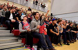 Bristol Flyers fans  - Photo mandatory by-line: Joe Meredith/JMP - 18/11/2016 - BASKETBALL - SGS Wise Arena - Bristol, England - Bristol Flyers v Surrey Scorchers - British Basketball League