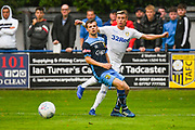 Leeds United Ezgjan Alioski (10) passes the ball during the Pre-Season Friendly match between Tadcaster Albion and Leeds United at i2i Stadium, Tadcaster, United Kingdom on 17 July 2019.