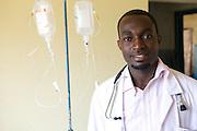 Doctor Ivan Nyenje, Kasangati Health Centre in Uganda.