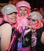 The Pussyfooters before the Muses parade; Carnival 2008