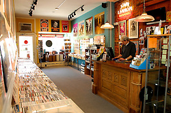 Hideaway Music, a record store in Chestnut Hill