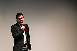 Actor JAVIER BARDEM on stage at the 'Sons of the Clouds: The Last Colony' premiere during the 2012 Toronto International Film Festival at the Ryerson Theatre, September 13th 2012. Photo by David Tabor/ i-Images.