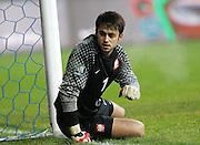 POZNAN 17/11/2010.FOOTBALL INTERNATIONAL FRIENDLY.POLAND v IVORY COAST.Lukasz Fabianski of Poland ..Fot: Piotr Hawalej / WROFOTO