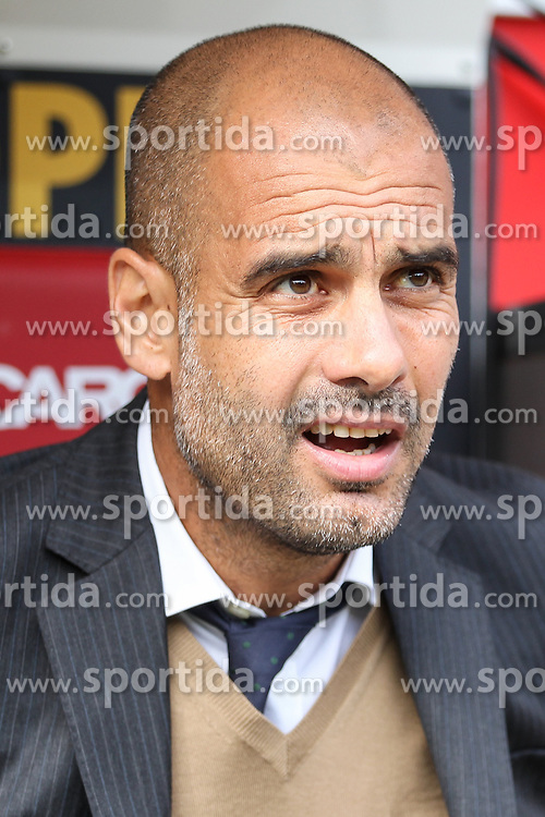 26.09.2015, Coface Arena, Mainz, GER, 1. FBL, 1. FSV Mainz 05 vs FC Bayern Muenchen, 7. Runde, im Bild Trainer Pep Guardiola (FC Bayern Muenchen) // during the German Bundesliga 7th round match between 1. FSV Mainz 05 and FC Bayern Munich at the Coface Arena in Mainz, Germany on 2015/09/26. EXPA Pictures &copy; 2015, PhotoCredit: EXPA/ Eibner-Pressefoto/ Schueler<br /> <br /> *****ATTENTION - OUT of GER*****