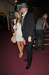 Chef JAMES MARTIN and LOUISE DAVIES at the opening night of Totem by Cirque du Soleil held at The Royal Albert Hall, London on 5th January 2011.