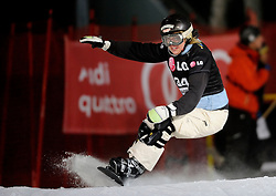 10-10-2010 SNOWBOARDEN: LG FIS WORLDCUP: LANDGRAAF<br /> First World Cup parallel slalom of the season / OTT Lynn USA<br /> ©2010-WWW.FOTOHOOGENDOORN.NL