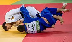 09-08-2016 BRA: Olympic Games day 4, Rio de Janeiro<br /> Sven Marsch GER (wit) verliest van Sergiu Toma UAE<br /> Photo by Ronald Hoogendoorn / Sportida