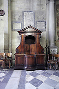 confessional Arezzo Italy