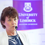 05.05. 2017.                          <br /> The Minister for Education and Skills, Richard Bruton, TD today officially launched a Post Graduate Qualification in&nbsp;School Leadership&nbsp;at the University of Limerick, aimed at those aspiring to senior leadership positions in schools. The establishment of this programme forms part of the Government&rsquo;s Action Plan for Education (2016-2019) and it aims to develop leadership capacity in Irish Primary and Post Primary Schools. <br /> <br /> Pictured at the launch was Mary Nihill from the Centre for School Leadership. Picture: Alan Place.