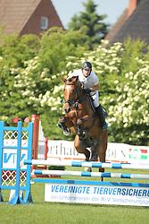 Vehar, Jan, GK Las Vegas<br /> Fehmarn - Holsteiner Masters<br /> Springpferde Kl. A, 5+6j. Pferde<br /> © www.sportfotos-lafrentz.de/ Stefan Lafrentz