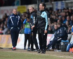 Bristol Rovers Manager Darrell Clarke - Mandatory byline: Alex James/JMP - 19/03/2016 - FOOTBALL - Rodney Parade - Newport, England - Newport County v Bristol Rovers - Sky Bet League Two
