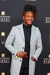 February 2, 2019 - Atlanta, GA, U.S. - ATLANTA, GA - FEBRUARY 02:  Shaquem Griffin  poses for photos on the red carpet at the NFL Honors on February 2, 2019 at the Fox Theatre in Atlanta, GA. (Photo by Rich Graessle/Icon Sportswire) (Credit Image: © Rich Graessle/Icon SMI via ZUMA Press)