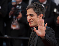 Actor Gael Garcia Bernal at the gala screening for Woody Allen's film Café Society and opening ceremony at the 69th Cannes Film Festival, Wednesday 11th May 2016, Cannes, France. Photography: Doreen Kennedy