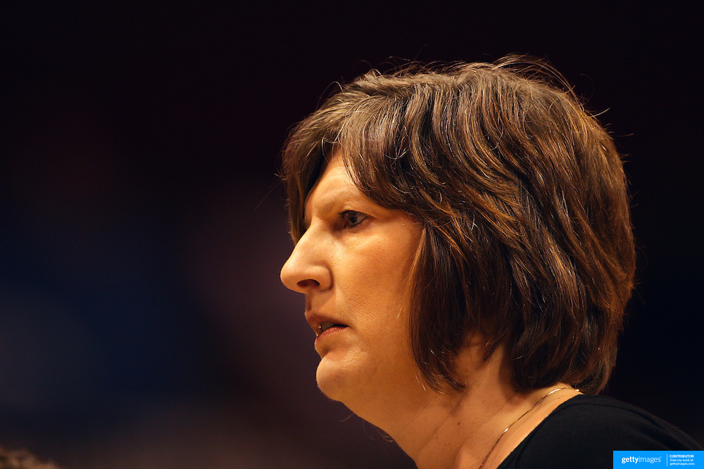 Anne Donovan, Head Coach of the Connecticut Sun,  during the Connecticut Sun V New York Liberty WNBA pre season game at Mohegan Sun Arena, Uncasville, Connecticut, USA. 11th May 2013. Photo Tim Clayton