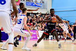 Daniel Edozie of Bristol Flyers - Photo mandatory by-line: Ryan Hiscott/JMP - 17/01/2020 - BASKETBALL - SGS Wise Arena - Bristol, England - Bristol Flyers v London City Royals - British Basketball League Championship