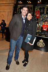 SAM ATTWATER and VICKY OGDEN at the opening night of Cirque du Soleil's award-winning production of Quidam at the Royal Albert Hall, London on 7th January 2014.