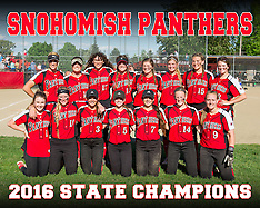 2016 Snohomish Softball State Champs!