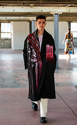 Pictured: <br /> Cowboys, falconry and gang culture provided some of the inspiration for University of Edinburgh fashion students, whose work will be displayed between May 18 and 20 this year<br /> <br /> Ger Harley | EEm 19 April 2016