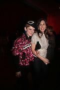 Emilia Fox and Jessica de Rothschild,  Whitechapel and Hogan present Art Pls Drama Party 2007. Whitechapel Gallery. London. 8 March 2007. -DO NOT ARCHIVE-© Copyright Photograph by Dafydd Jones. 248 Clapham Rd. London SW9 0PZ. Tel 0207 820 0771. www.dafjones.com.