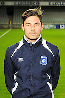 Gregory BERTHIER - 31.10.2014 - Auxerre / Brest - 13eme journee Ligue 2<br />