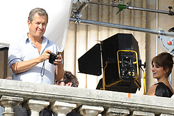 File photo : Peruvian fashion photographer Mario Testino is seen during the shooting of an ad starring Spanish actress Penelope Cruz for Lancome's fragrance 'Tresor' on a balcony of the Hotel de Crillon, on Place de la Concorde square, in Paris, France on April 28, 2010. Photographer to the stars Mario Testino is a favourite of the Royal Family but he is facing a stream of sexual misconduct allegations from male models. Fashion brands Burberry and Michael Kors moved quickly to cut ties with him. He had been a front-runner to be the official photographer at the wedding of Prince Harry and Meghan Markle but has been ruled out following the uproar. Photo by ABACAPRESS.COM