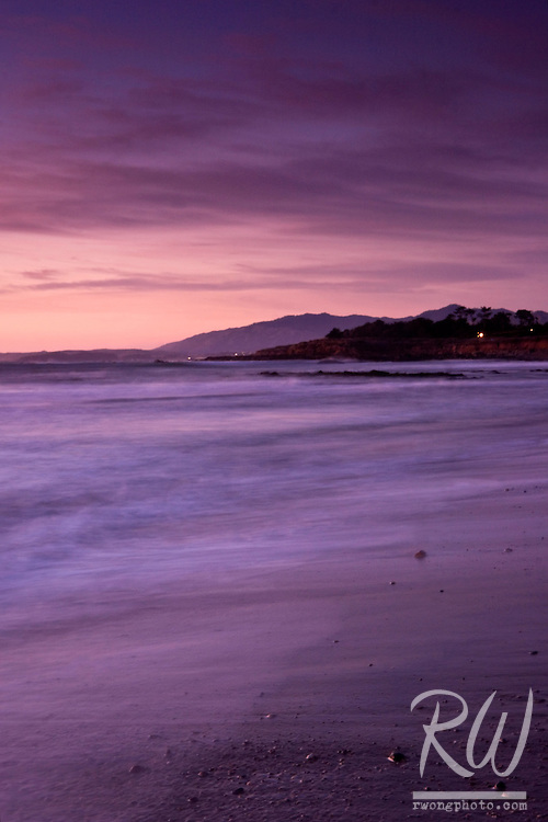 Moonstone Beach Sunset, Cambria, California