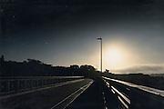 Sonnenaufgang Viadukt Steinweg/ Barmen an der Nordbahntrase
