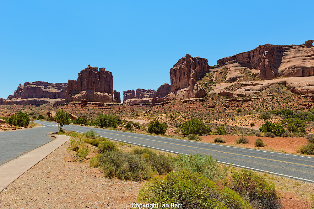 Arches National Park,Utah,USA, Natural Rock formations.