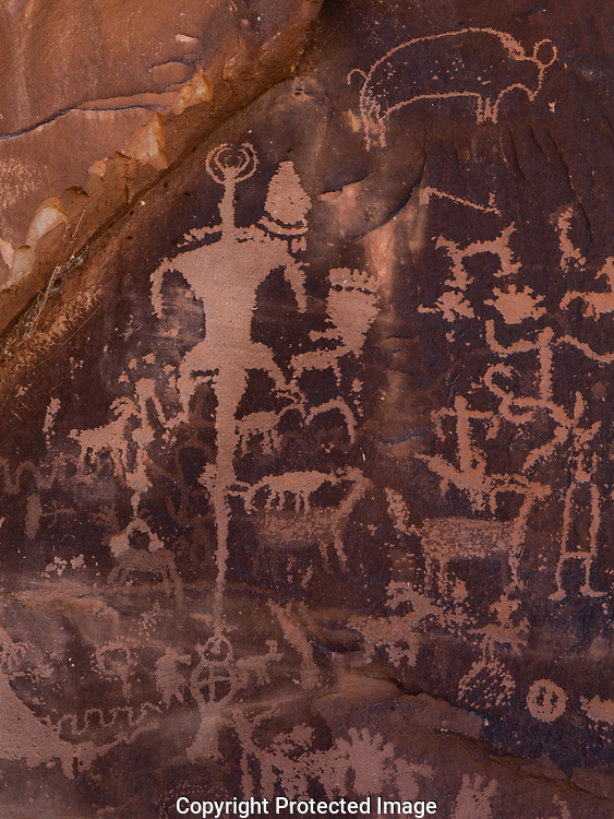 petroglyph; Newspaper Rock State Historic Monument; Utah