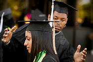 Photographs from the 92nd and final Commencement Exercises on Saturday, April 28, 2018, in the Julius and Mary Jenkins Center at Concordia College Alabama in Selma, Ala. LCMS Communications/Erik M. Lunsford