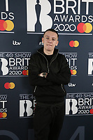 Aitch attends the BRIT Awards 2020 - The BRITs Are Coming, The Riverside Studios, London, UK, Sunday 08 December 2019<br /> Photo JM Enternational