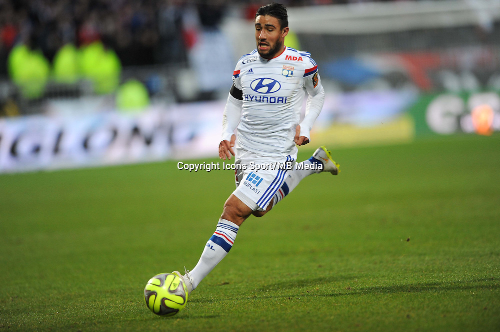 Nabil FEKIR - 11.01.2015 - Lyon / Toulouse - 20eme journee de Ligue 1<br /> Photo : Jean Paul Thomas / Icon Sport