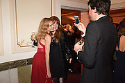 NATALIA VODIANOVA; CHARLOTTE TILBURY; ANTOINE ARNAULT; The Backstage Gala in aid of the Naked Heart Foundation. Coliseum theatre. London. 17 April 2015