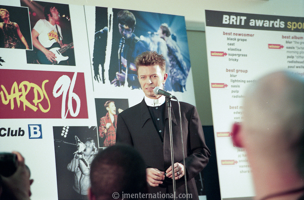 The BRIT Awards 1996 (Photo/John Marshall JM Enternational)