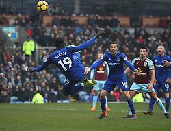Oumar Niasse of Everton misses a goal scoring opportunity - Mandatory by-line: Jack Phillips/JMP - 03/03/2018 - FOOTBALL - Turf Moor - Burnley, England - Burnley v Everton - English Premier League