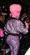 20.JANUARY.2011. LONDON<br /> <br /> AMERICAN RAPPER AND SINGER SONGWRITER NICKI MINAJ MADE AN APPEARANCE AT CAPITAL RADIO AND HEADED BACK TO THE DORCHESTER HOTEL IN CENTRAL LONDON.<br /> <br /> BYLINE: EDBIMAGEARCHIVE.COM<br /> <br /> *THIS IMAGE IS STRICTLY FOR UK NEWSPAPERS AND MAGAZINES ONLY*<br /> *FOR WORLD WIDE SALES AND WEB USE PLEASE CONTACT EDBIMAGEARCHIVE - 0208 954 5968*