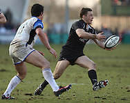 Newcastle - Sunday, March 7th, 2010: Jimmy Gopperth of Newcastle Falcons during the Guinness Premiership match at Newcastle. (Pic by Steven Hadlow/Focus Images)