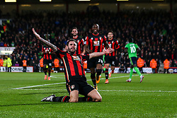 Goal, Steve Cook of Bournemouth scores, Bournemouth 1-0 Southampton - Mandatory by-line: Jason Brown/JMP - Mobile 07966 386802 01/03/2016 - SPORT - FOOTBALL - Bournemouth, Vitality Stadium - AFC Bournemouth v Southampton - Barclays Premier League