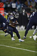 Tennessee Titans running back Dion Lewis (33) in action during the week 14 regular season NFL football game against the Jacksonville Jaguars on Thursday, Dec. 6, 2018 in Nashville, Tenn. The Titans won the game 30-9. (©Paul Anthony Spinelli)
