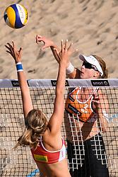 09-06-2016 DUI: Smart Major Beach Volleyball World Tour, Hamburg<br /> Madelein Meppelink<br /> <br /> ***NETHERLANDS ONLY***