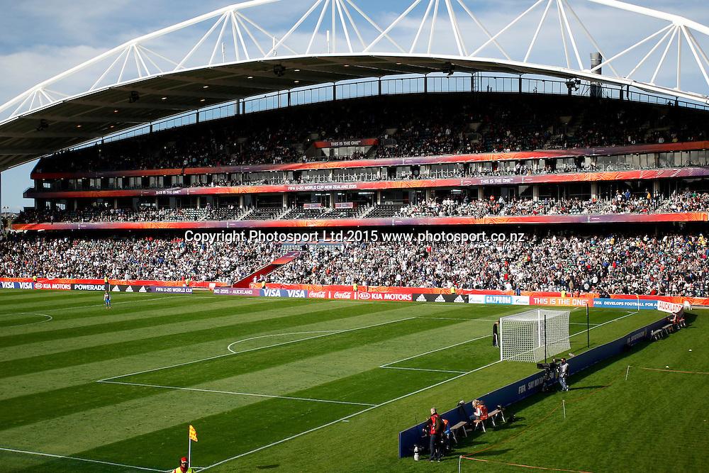 Stadium shot. 2015 FIFA U20 World Cup, New Zealand v Ukraine, QBE Stadium Auckland, Saturday 30th May 2015. Copyright Photo: Shane Wenzlick