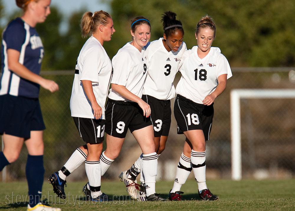 OC Women's Soccer vs Sterling.September 30, 2008