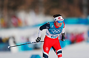 PYEONGCHANG-GUN, SOUTH KOREA - FEBRUARY 15: Heidi Weng of Norway during the women's 10k free technique Cross Country competition at Alpensia Cross-Country Centre on February 15, 2018 in Pyeongchang-gun, South Korea. Photo by Nils Petter Nilsson/Ombrello               ***BETALBILD***