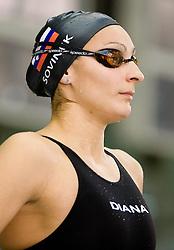 Nina Sovinek of Slovenia during the 50m women Freestyle at the swimming competition Ilirija Challenge 2009, on December 16, 2009, in Tivoli pool, Ljubljana, Slovenia. (Photo by Vid Ponikvar / Sportida)