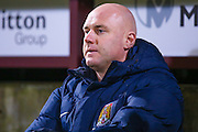 Northampton Town Manager Robert Page  during the EFL Sky Bet League 1 match between Bradford City and Northampton Town at the Coral Windows Stadium, Bradford, England on 22 November 2016. Photo by Simon Davies.